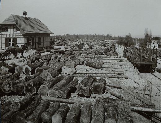 bahnhof lengwil historisch